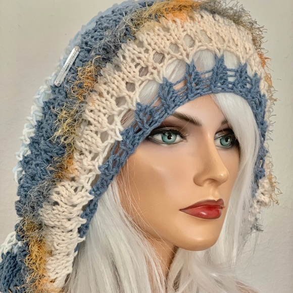 Hand Knits 2 Love ❤️ Accessories - Hand Knits 2 Love Slouch Hat Spring Summer Hip